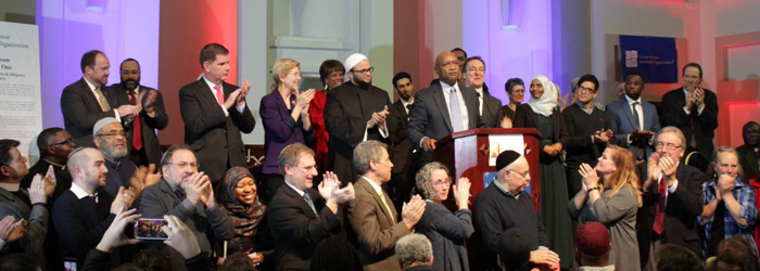 Interfaith Gathering At Boston's Largest Mosque Seeks To Build Bridges