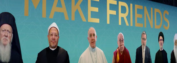 World's Top Religious Leaders Issue a Call: Make Friends!