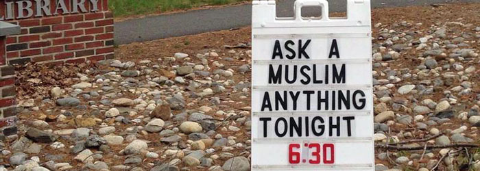 """Ask a Muslim Anything"" Events Break Down Misconceptions"