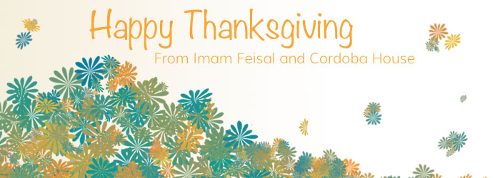 Thanksgiving Wishes from Cordoba House!